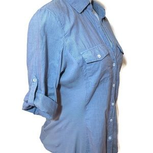 James Perse Tops - Blue button up James Perse shirt